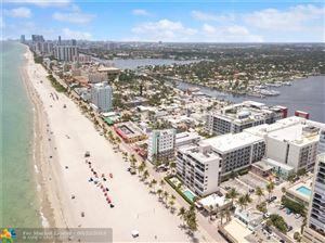 Photo of 777 N Ocean Dr #N406, Hollywood, FL 33019 (MLS # F10183529)
