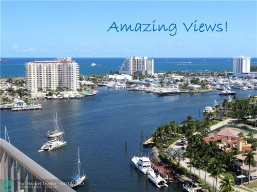 Photo of 2500 E Las Olas Blvd #PH-5, Fort Lauderdale, FL 33301 (MLS # F10169530)