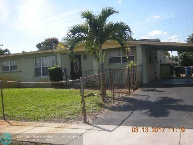 Photo of 1420 NW 43rd St, Oakland Park, FL 33309 (MLS # F10239533)
