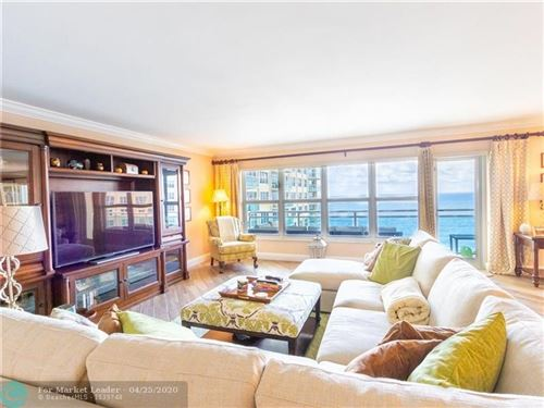 Photo of 3900 Galt Ocean Dr #806, Fort Lauderdale, FL 33308 (MLS # F10203535)