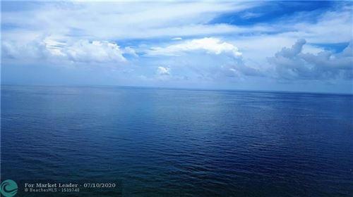 Photo of 3500 Galt Ocean Dr #701, Fort Lauderdale, FL 33308 (MLS # F10214535)