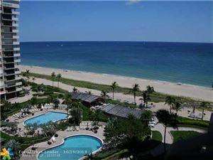 Photo of 4900 N OCEAN BLVD #1102, Lauderdale By The Sea, FL 33308 (MLS # F10199536)