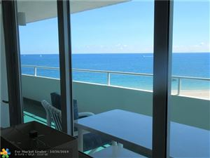 Photo of 4050 N Ocean Dr #806, Lauderdale By The Sea, FL 33308 (MLS # F10200536)