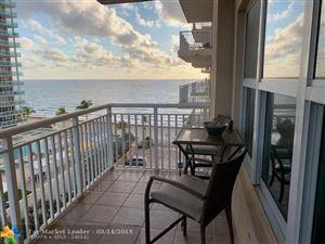 Photo of 3850 Galt Ocean Dr #708, Fort Lauderdale, FL 33308 (MLS # F10165539)