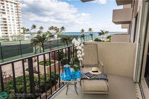 Photo of 5100 N Ocean Blvd #406, Lauderdale By The Sea, FL 33308 (MLS # F10263539)