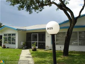 Photo of 8435 NW 10TH ST #B-50, Plantation, FL 33322 (MLS # F10189542)