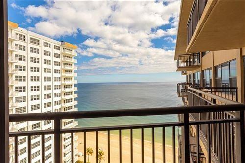 Photo of 3800 Galt Ocean Dr #1602, Fort Lauderdale, FL 33308 (MLS # F10270542)