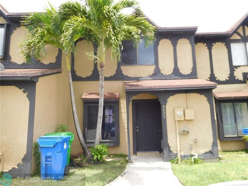 4431 NW 93rd Way, Sunrise, FL 33351 - #: F10230543