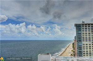 Photo of 4020 Galt Ocean Dr #306, Fort Lauderdale, FL 33308 (MLS # F10139545)