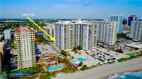 Photo of 2030 S Ocean Dr #510, Hallandale, FL 33009 (MLS # F10220545)