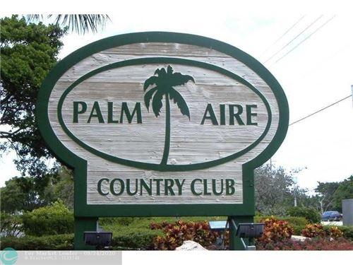 Photo of 3300 N Palm Aire Dr #809, Pompano Beach, FL 33069 (MLS # F10250545)