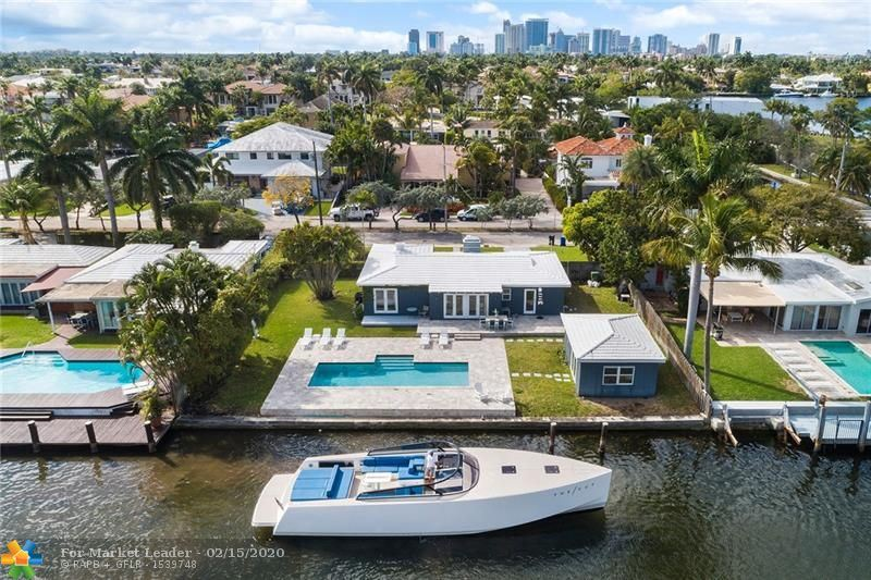 Photo for 510 RIVIERA DR, Fort Lauderdale, FL 33301 (MLS # F10215545)