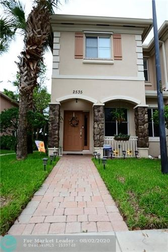 Photo of Listing MLS f10240546 in 2535 SW 82nd Ave #101 Miramar FL 33025