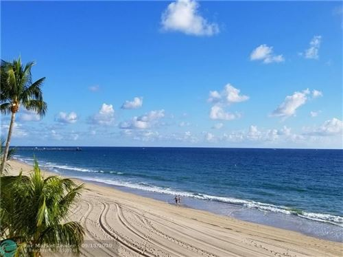 Photo of 4280 Galt Ocean Drive #15F, Fort Lauderdale, FL 33308 (MLS # F10238548)
