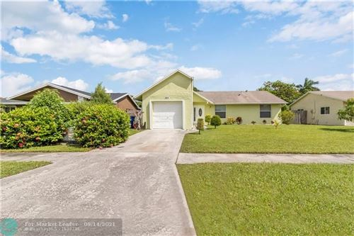 Photo of 7611 SW 7th Pl, North Lauderdale, FL 33068 (MLS # F10300550)