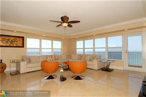 Photo for 3850 Galt Ocean Dr #1901, Fort Lauderdale, FL 33308 (MLS # F10176553)
