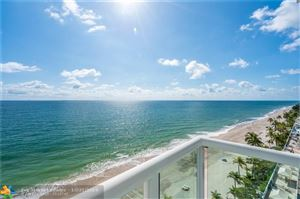 Photo of 3550 Galt Ocean Dr #1001, Fort Lauderdale, FL 33308 (MLS # F10198555)