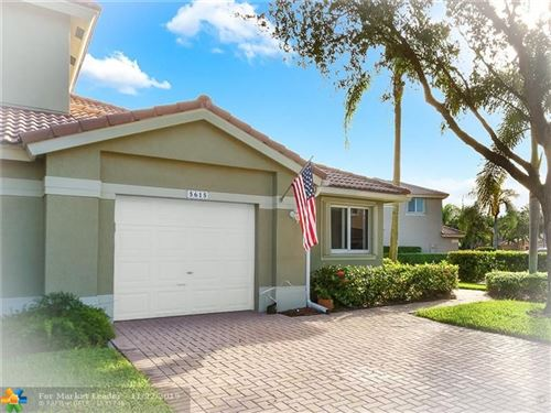 Photo of 5615 NW 127th Ter #5615, Coral Springs, FL 33076 (MLS # F10203557)