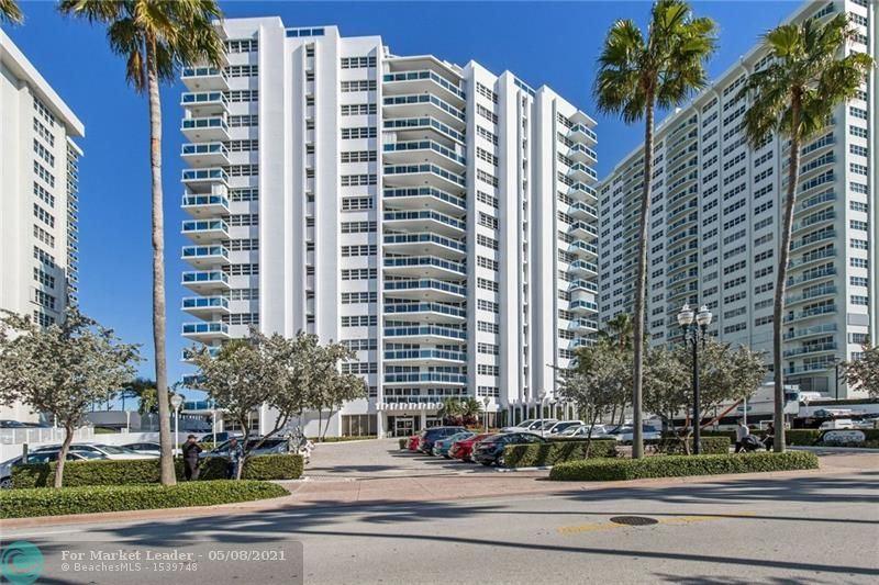 Photo of 3430 Galt Ocean Dr #110, Fort Lauderdale, FL 33308 (MLS # F10283557)