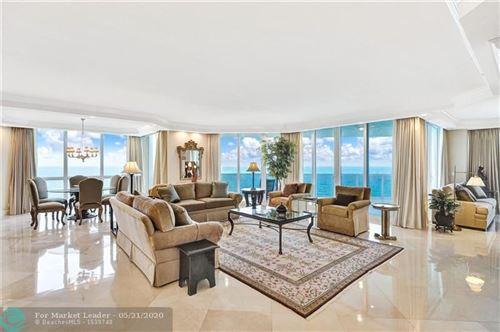 Photo of 3200 N Ocean Blvd #1109, Fort Lauderdale, FL 33308 (MLS # F10210558)