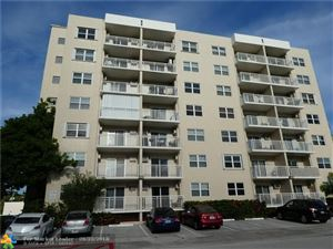 Photo of 720 ORTON AVE #103, Fort Lauderdale, FL 33301 (MLS # F10139559)