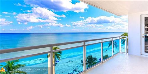 Photo of 3430 Galt Ocean Dr #606, Fort Lauderdale, FL 33308 (MLS # F10205560)