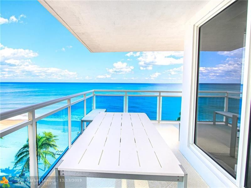 Photo of 3430 Galt Ocean Dr #606, Fort Lauderdale, FL 33308 (MLS # F10205560)