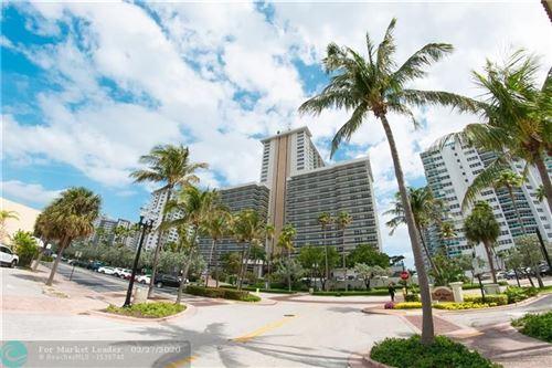 Photo of 3500 Galt Ocean Dr #1108, Fort Lauderdale, FL 33308 (MLS # F10218561)