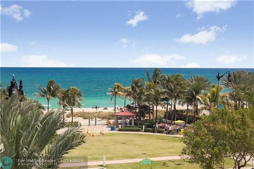 Photo of 4511 El Mar Dr #404, Lauderdale By The Sea, FL 33308 (MLS # F10252561)