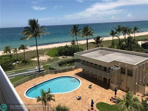 Photo of 5200 N Ocean Blvd #605B, Lauderdale By The Sea, FL (MLS # F10233563)