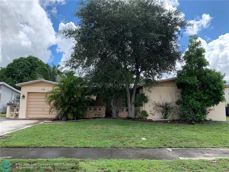 Photo of 156 NW 77th Ave, Margate, FL 33063 (MLS # F10249563)