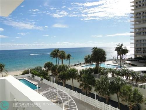 Photo of 4250 Galt Ocean Dr #4D, Fort Lauderdale, FL 33308 (MLS # F10293566)