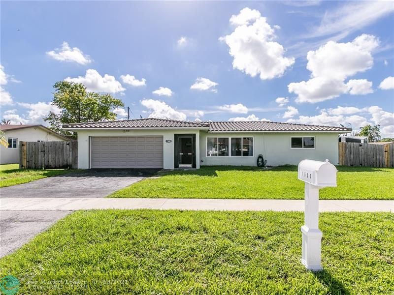 Photo of 1500 Cathedral Dr, Margate, FL 33063 (MLS # F10292566)