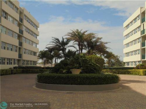 Photo of 1236 Hillsboro Mile #510B, Hillsboro Beach, FL 33062 (MLS # F10265569)