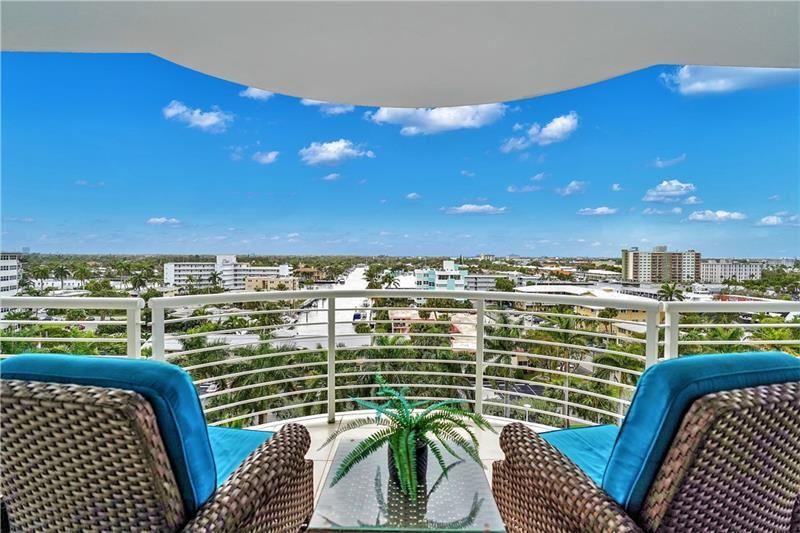 Photo of 2831 N Ocean Blvd #708N, Fort Lauderdale, FL 33308 (MLS # F10249570)