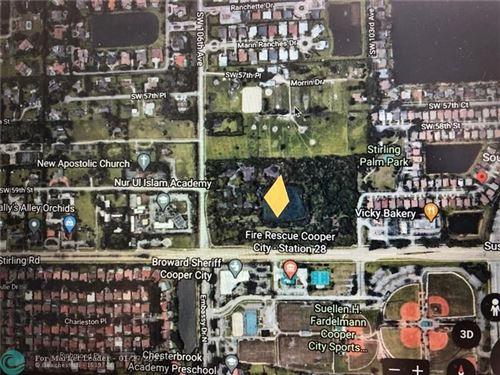 Photo of 10599 Stirling Road, Cooper City, FL 33328 (MLS # F10268571)