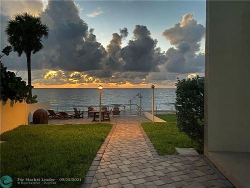Photo of 1203 Hillsboro Mile #6A, Hillsboro Beach, FL 33062 (MLS # F10301573)