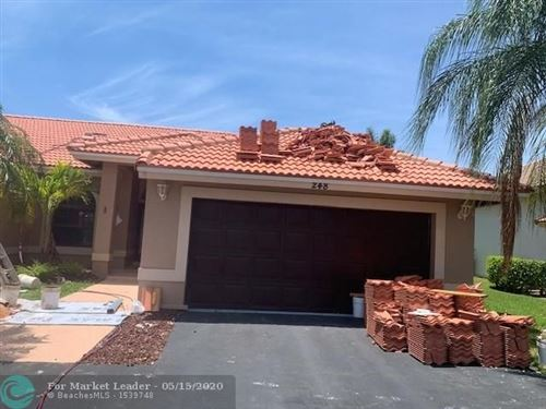 Photo of Listing MLS f10228579 in 248 NW 119th Ln Coral Springs FL 33071