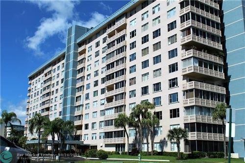 Photo of 4001 Hillcrest Dr #909, Hollywood, FL 33021 (MLS # F10305582)
