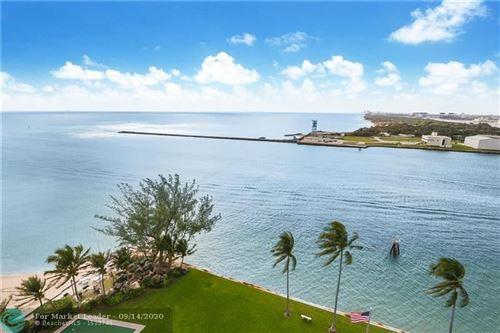 Photo of 2100 S Ocean Dr #14K, Fort Lauderdale, FL 33316 (MLS # F10217583)