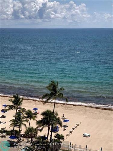 Photo of 3750 Galt Ocean Dr #1108, Fort Lauderdale, FL 33308 (MLS # F10221586)