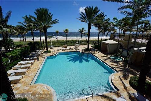 Photo of 4444 El Mar Dr #3404, Lauderdale By The Sea, FL 33308 (MLS # F10248588)