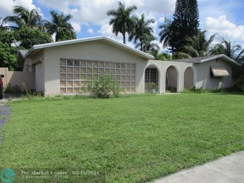 Photo of 6651 NW 9th St, Plantation, FL 33317 (MLS # F10284588)