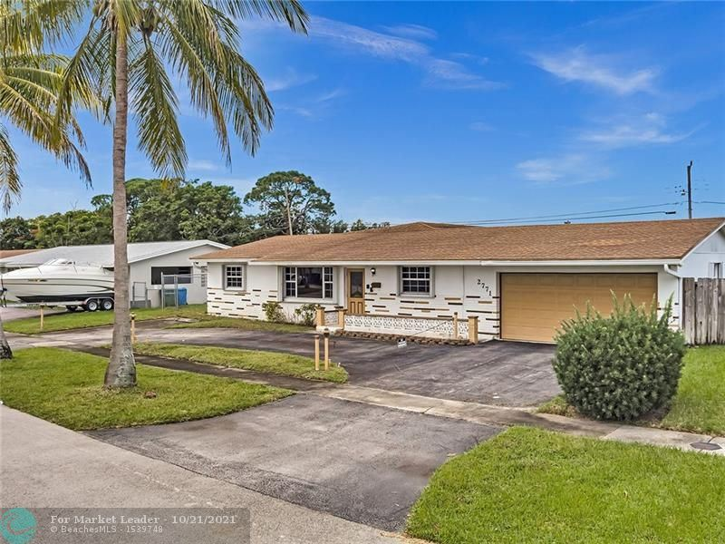 Photo of 2771 NW 26th Ave, Oakland Park, FL 33311 (MLS # F10304588)