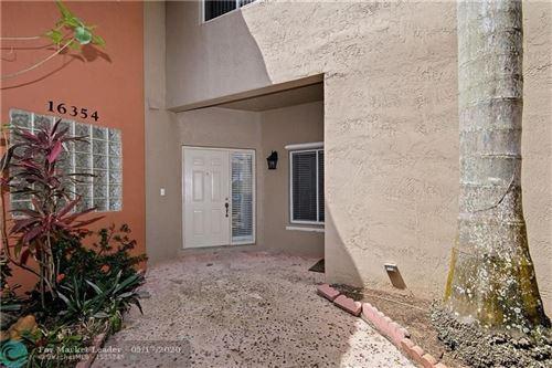 Photo of 16354 Malibu Dr #35, Weston, FL 33326 (MLS # F10180589)