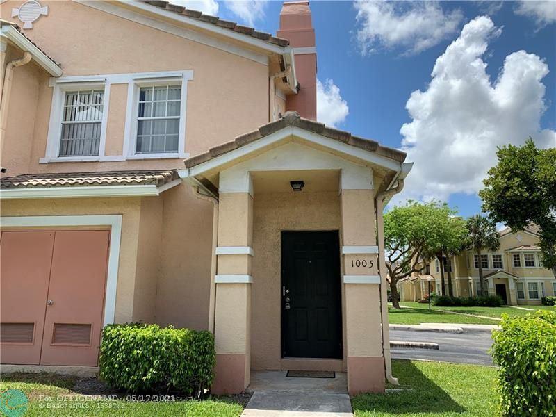 Photo of 1005 Belmont Ln #1105, North Lauderdale, FL 33068 (MLS # F10283591)