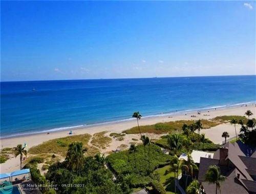 Photo of 2000 S Ocean Boulevard #10K, Lauderdale By The Sea, FL 33062 (MLS # F10301592)