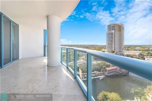 Photo of 333 LAS OLAS WAY #1402, Fort Lauderdale, FL 33301 (MLS # F10219593)