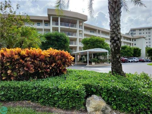 Photo of 535 OAKS DR #203, Pompano Beach, FL 33069 (MLS # F10300593)