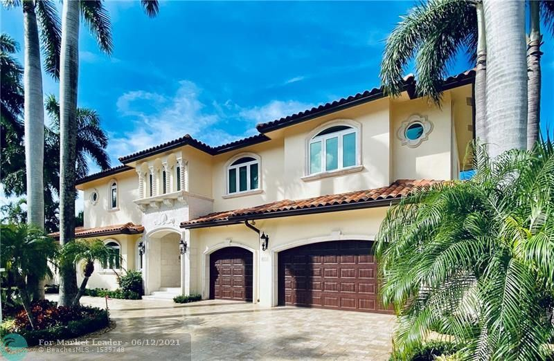 Photo of 601 Isle Of Palms Dr, Fort Lauderdale, FL 33301 (MLS # F10255593)